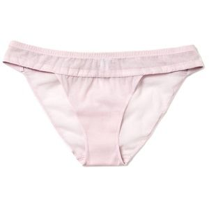 🆕 LA PERLA Tulle Nervures Panty, Lilac, Small,NWT